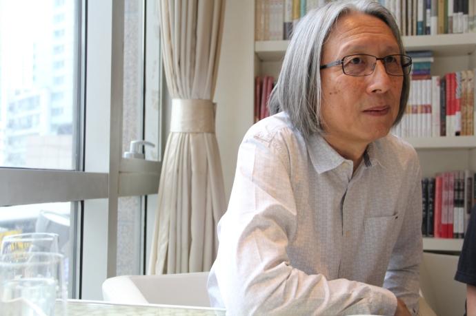 Chan Koonchung, by Joanna Chiu (dpa)